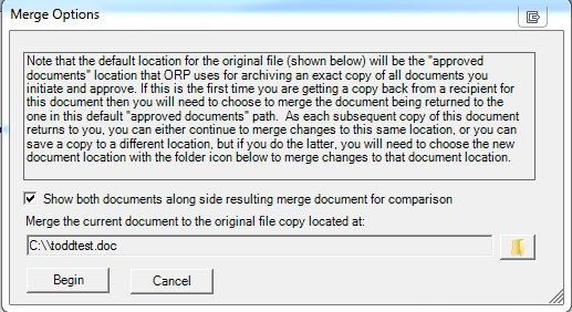 Image of ORP Merge Feature