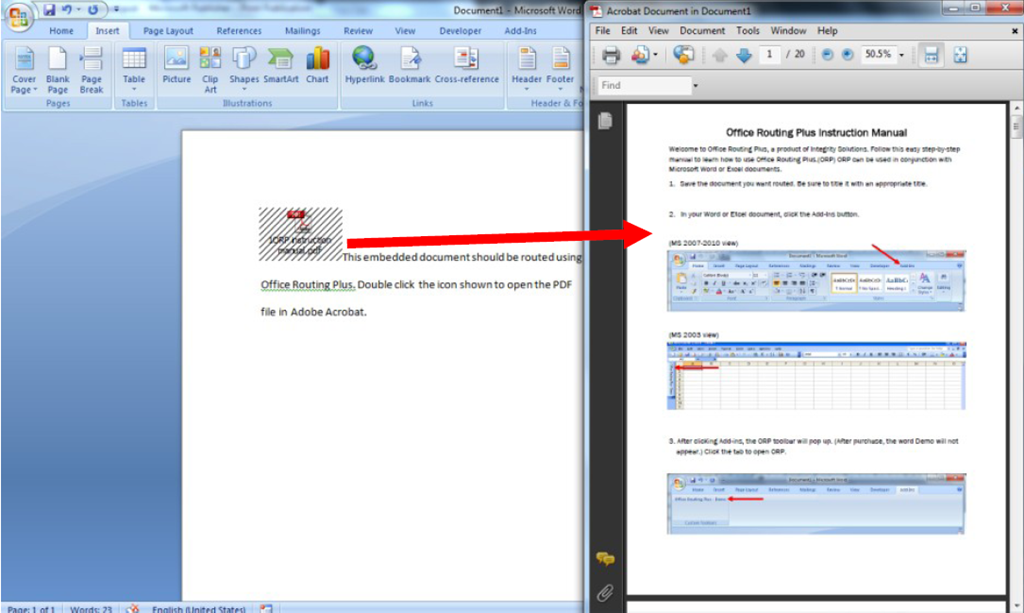pdf linked in excel not opening in adobe